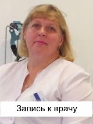 Отоларинголог  Сергеева Алла Петровна